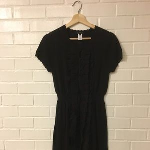 Anthropologie Nanette Lepore Black Dress Size S